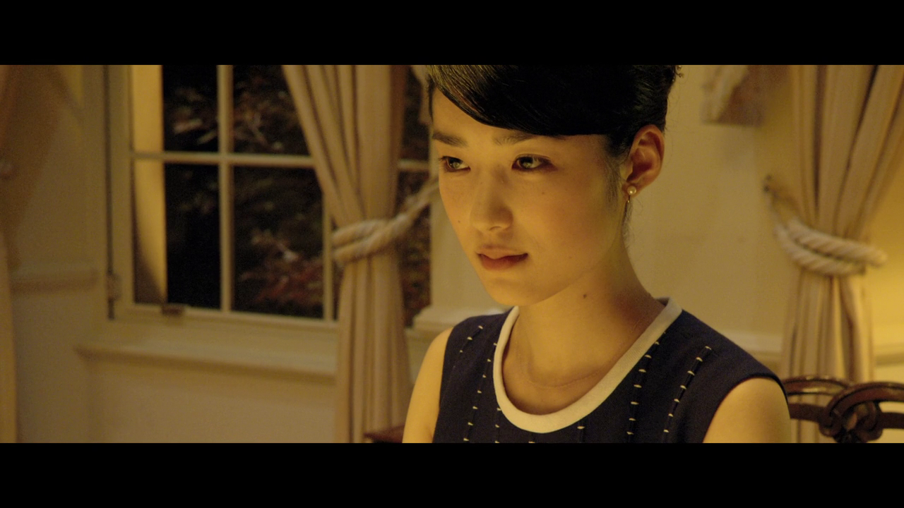 A screenshot from the movie adaptation of 'Norwegian Wood'.